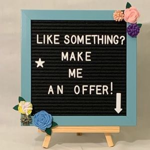 Reasonable Offers Considered!
